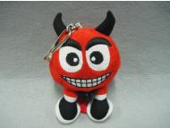 Plush Monster Keychain