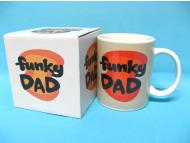 Ceramic coffee mug for Father Day