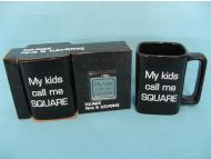 Ceramic square mug & Keyring giftset for Father Day