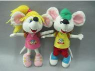 Plush Mouse Couple