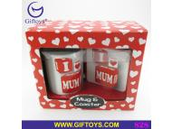Mother Day Mug & coaster gift set